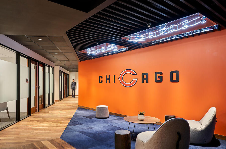 Chicago Bears Halas Hall Community Space