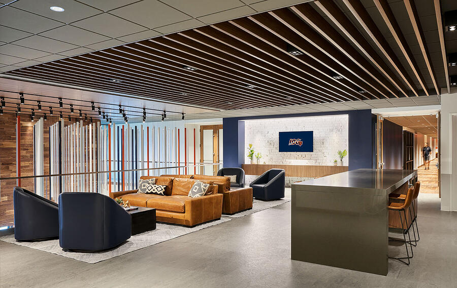 Chicago Bears Halas Hall Coaches Lounge